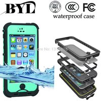 Wholesale Multi Case Iphone 4s - Waterproof Dropproof Dirtproof Shockproof cell phone Cases Multi-Level Protection case for Iphone 4 4s 5 5s 5c 6 6 plus drop shipping