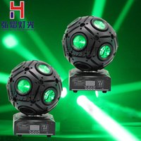 Wholesale-neues licht 2 teile / schachtel 9x10 Watt led fußball moving head strahl licht rgbw für dj disco event party show