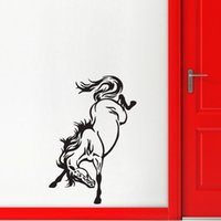 Galloping Horse Wall Stickers Décor à la maison Salon Animaux Stickers Muraux Vinyle Nursery Wall Murals
