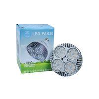 яркий свет следа водить оптовых-PAR30 E27 светодиодный прожектор 35 Вт супер яркий светодиодный прожектор лампы лампы AC110-265V трек лампы лампы домашнего декора бесплатная доставка