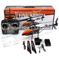 Wholesale Rc Sky Ship - Wholesale-Free shipping WLtoys V912 Sky Dancer 2.4Ghz 4CH RC Helicopter With Gyro RTF