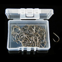 Wholesale Fly Carbon - 100pcs 1box NO.3-10 High Carbon Steel Ise Non-barbed Hook Fishing Hooks Fishhooks Pesca Tackle Carp Fishing Accessories