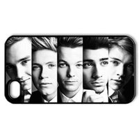 Wholesale Iphone 4s One Direction - Wholesale Music & Singer Series Style One Direction Hard Plastic Mobile Protective iPhone Case Cover For Iphone 4 4S 5 5S 5C 6