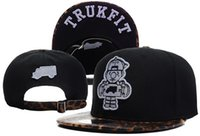 Wholesale Skateboard Caps - 2014 new black with Leopard Snake Brim trukfit Skateboard boy baseball strapback snapback hats and caps for men-women sun hat