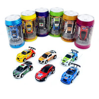 Wholesale Gift Boxes Buy - Redpoker Xmas Gift 8 Color Remote Control Car Coke Can Mini RC Radio Remote Control Micro Racing 1:64 Car 8803 Buy Send Gift Box