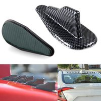 10 pezzi Universal ABS Roof <b>Shark Fins</b> Spoiler Wing Kit Generatore di vortice EVO Style DXY88