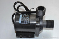 Wholesale Dc Mini Pumps - 12V DC Mini Brushless Magnetic Water Pump( High Temp 100 degrees C) w Thread ZC-T40