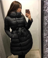 Wholesale Thick Wide Belt - Womens Winter Jackets And Coats Real Women Winter Clothing 2017 Selling Big Size 2xl Woman Warm Cotton Coat Belt A Word Female