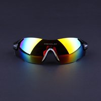 Wholesale Cycling Sunglasses Freeshipping Rimless Men Women UV400 Black Sport Bicycle Glasses Mountain Bike Goggles Ciclismo Eyewear