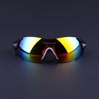 Wholesale Bike Sunglasses Polarized - Cycling Sunglasses-Freeshipping Rimless Men Women UV400 Black Sport Bicycle Glasses Mountain Bike Goggles Ciclismo Eyewear