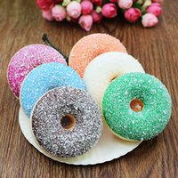 Wholesale Donut Cake - New Squishies early education Kid Toy Wedding photography tools Kawaii Cute Jumbo cake Soft Scented Cream cake donut Squishy Stretch