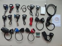 Wholesale Carprog Nissan - carprog car prog full v9.31 With 21 Full Adapters full set Professional carprog Programmer dhl free shipping