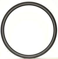 ruedas 3k ud al por mayor-Envío gratis Carbon Single Rim 700C 38mm Profundidad 23 mm Ancho Peso ligero Carbon rueda Clincher / tiubular Road Bike Rim 3k / UD tejer