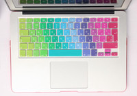 Dustproof,Waterproof Silicone Laptop Keyboard Silicone EU UK Russian alphabet Keyboard Cover Stickers Protector for MacBook Air 13.3 Mac Book Air13 inch