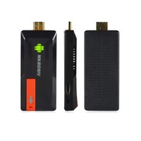 Wholesale Google Dlna Stick - MK809IV Android 4.4 TV Stick Dongle Quad Core RK3188T 2G 8GB Bluetooth DLNA Wifi Mini PC TV Media Player