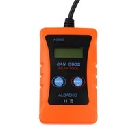 Wholesale New Universal Car Diagnostic - 2015 Newest Universal AC600 LCD OBD2 CAN BUS Car Fault Diagnostic Scanner Code Reader New Dropping Shipping&