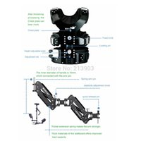 Wholesale Steadicam Steadycam - Wholesale-Professional 6-15kg Wondlan Steadicam IV Deluxe double Arm steadycam + Monitor