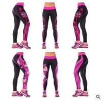 Wholesale Galaxy Style Leggings - Women Leggings 2016 Newest Womens 3d Galaxy Printed Leggings for Women Workout Capri Leggings Yoga Stretch Tights Sport Leggings 1111