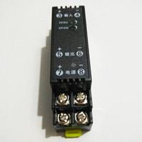 convertidor de potencia de voltaje al por mayor-4-20 mA 0-10 V 0-5 0-75mV convertidor de señal de la fuente de alimentación de 24V 1,5 kV Aislamiento analógico actual convertidor de voltaje