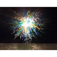 24 araña de burbujas de cristal al por mayor-Longree Style Glass Bubble Murano Glass Chandelier 120v 240v radialmente decoración de dormitorio de estilo rural en venta caliente