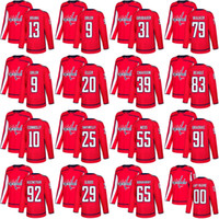 00d97539e75 2018 Stanley Cup Champions Mens youth women Washington Capitals Jerseys 79  Nathan Walker 83 Jay Beagle 91 Tyler Graovac Hockey Jerseys