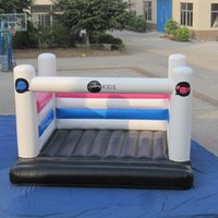 Wholesale Cheap Small Inflatables - AOQI 0.55mm pvc tarpaulin cheap inflatable bouncer small playground classic inflatable bouncers for business made in AOQI