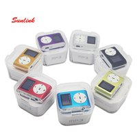 Wholesale Nice Screen - most popular mini mp3 player lcd screen with nice crystal retail box and earphone and charging cable support mixed colors