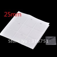 Wholesale Epoxy Craft Squares - Free 180 Clear Square Epoxy Domes Resin Stickers 25mm For Photo Craft Jewelry Make(W01563 X 1)