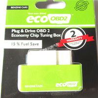 Wholesale Honda Fuel - 2015 New Arrival Plug and Drive EcoOBD2 Economy Chip Tuning Box for Benzine 15% Fuel Save
