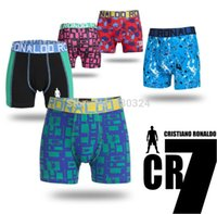 Wholesale Cheapest Cotton Underwear - Hot new cheap sales high quality leica CR7 children's pants fashion prints boys underwear for underwear boy free shipping