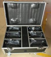 iluminación rasha al por mayor-Rasha Stage Lighting 12leds 18W 6in1 RGBAW UV Batería Powerered Wireless LED Slim Par light Con 6in1 Vuelo de carga Case