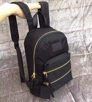 Wholesale Ladies Sport Backpack - AE112 Cozy Casual bicolor zippers grapheme logo prints Women lady girl backpack school bag travel sports bag