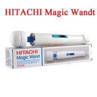Wholesale Hitachi Magic Wand Retail - 2015 New arrival Hitachi Magic Wand Massager AV Vibrator Massager Personal Full Body Massager HV-250R 110-240V with retail box from Airmen
