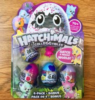 Hatchimals Colleggtibles Season 1 Nest 4-Pack + Bonus Bundle Baby Mini Egg Carton Collection Игрушки для детей Christmas Brithday Gift, сделанные в C