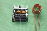 Wholesale Induction Coils - Wholesale-1000W ZVS Low voltage induction heating board module Tesla coil free shipping