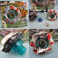 10PCS / LOT BEYBLADE 4D RAPIDITY METALL FUSION Beyblades Spielzeug-Set -H Konstellation Metall BBG 4D Beyblade