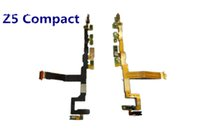 Test superato per Sony Xperia Z5 Compact VS Z5 mini Volume di accensione Pulsante di spegnimento On Main Mic Flex Cable Parti di ricambio OEM