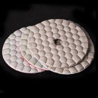 "Wholesale Granite Diamond Polishing Pads - 3"" 80mm Diamond dry Very Flexible polishing pads for quartz stone granite marble- 2Pcs #5 (2000) Grit Sets"