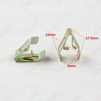 Wholesale metal cds - 2226 Auto Fasteners Clips Retainers Universal Car Radios Dashboard DVD CD U cord lock Console Panel Trim Buckle moulding Metal