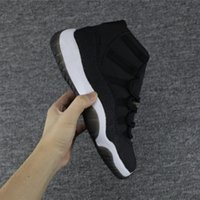 2017 New Retro 11 PRM Heiress Velvet mens womens Basketball Shoes Sneakers Cheap Black OVO Gold 11s trainers US5.5-13