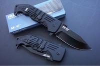 faca dobrável ak venda por atacado-FRIO AÇO AK47 AK47 tático faca Aircraft Aluminum Handle Hunting Folding Pocket Knife frete grátis