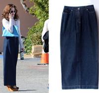 Best Long Denim Skirts Plus Size to Buy | Buy New Long Denim ...