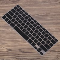Silicone Anti-dust Ultra-thin Laptop Keyboard Protective Film Cover Sticker Skin US Layout para MacBook Air 11.6