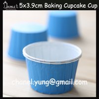 Wholesale Wholesale Baby Blue Cupcake Cups - Cakes and Cupcakes,Muffin Cupcake Paper Cups,50pcs Baby Blue Birthday Cupcake,Cupcake Liners,Cupcake Packaging,Paper Cupcake