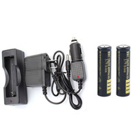 Wholesale 4000 portable charger online – 2 x mAh Li ion Battery Portable Charger Car Charger AC adaptor for Single Battery