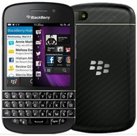 Wholesale version cell phones - Original BlackBerry Q10 4G TLE US EU Version BlackBerry OS 10 Dual core 2GB 16GB 8MP Camera GPS WIFI Cell Phone Refurbished