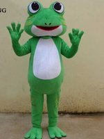 Wholesale Prince Mascot Costumes - The Prince Frog Mascot Costume, Animal Mascot Costume, Great Gift For Kids and Friends, Free Shipping