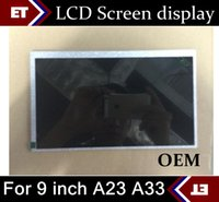 Wholesale Digitizer 9inch Tablet - 9 inch A23 Q88 Replacement LCD Display Screen Digitizer for 9inch Allwinner A13 A23 A33 Tablet PC OEM TC12