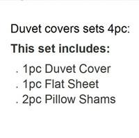 Wholesale Apple Duvet - Wholesale-2015 new discount 3D bed sets black red apple fruit print bedding full queen size quilt duvet covers home textile linen coverlet