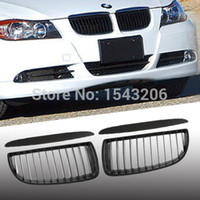 sport saloon - For BMW Series E90 E91 Saloon Touring D Black Sports Kidney Grill Grille M3 order lt no tracking